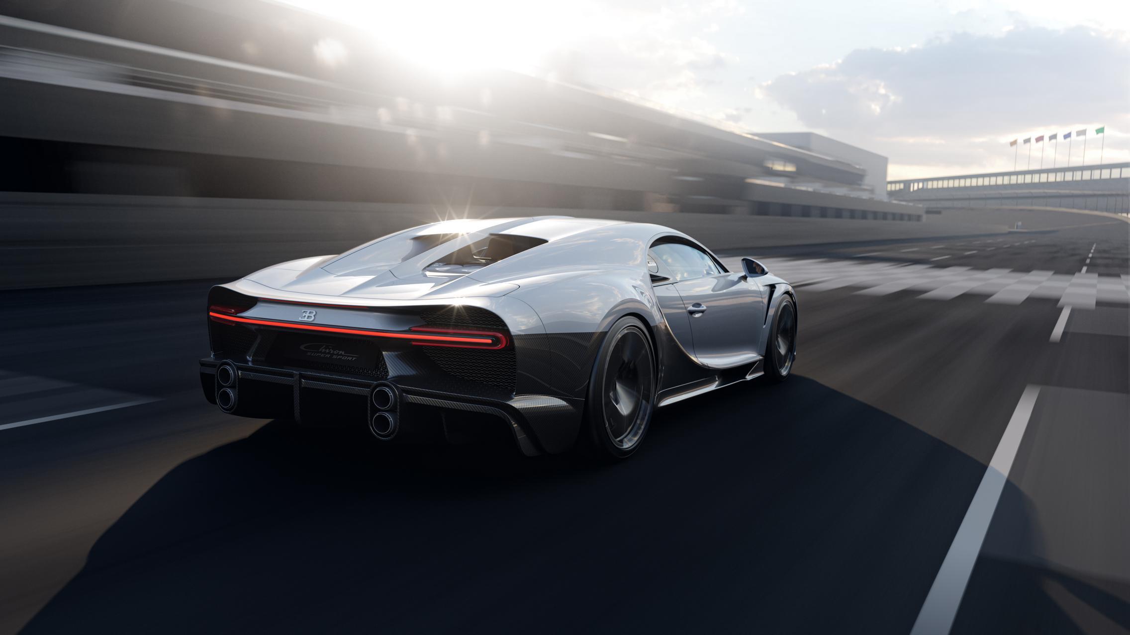 Bugatti Chiron Super Sport wallpaper