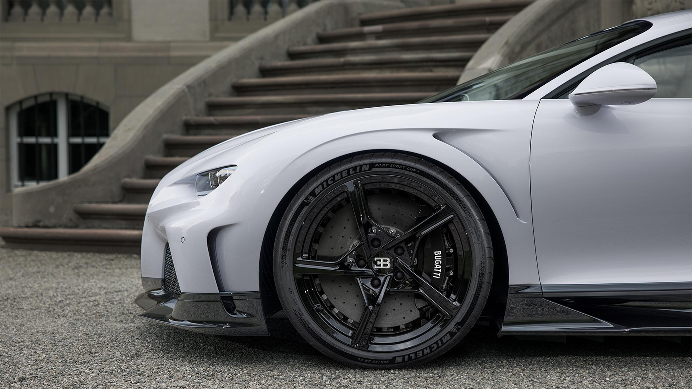 Bugatti Chiron Super Sport wheels