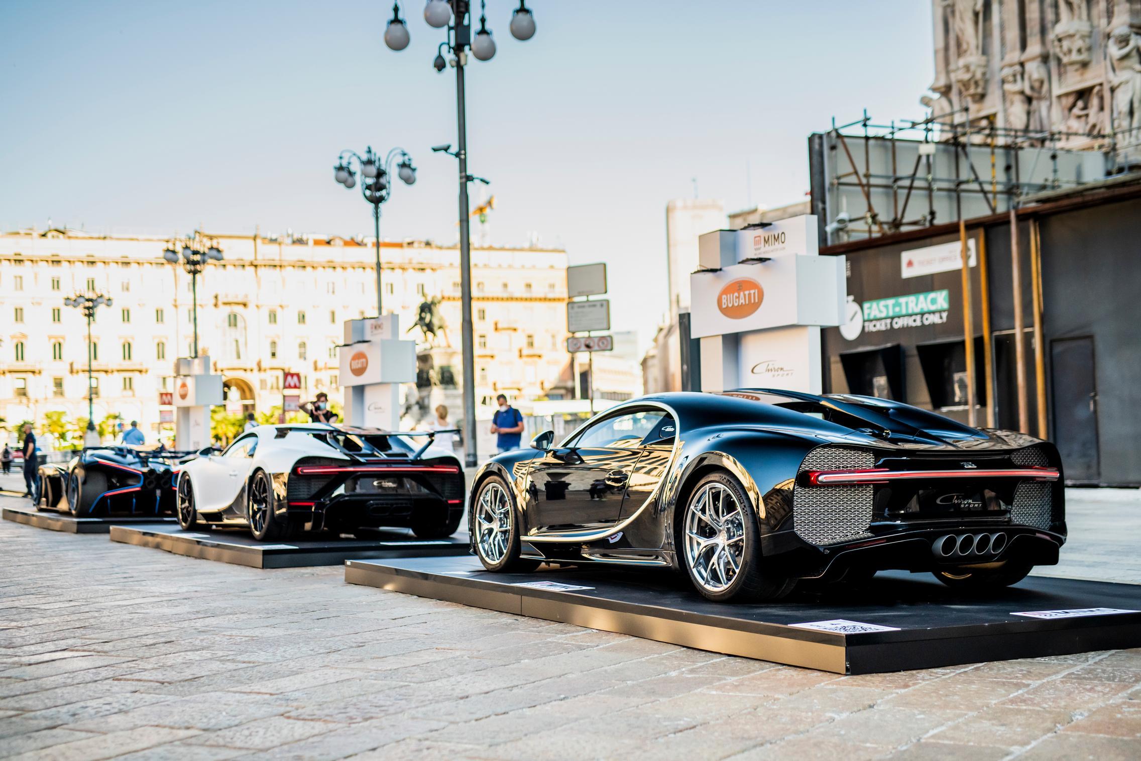 Bugatti Chiron lineup