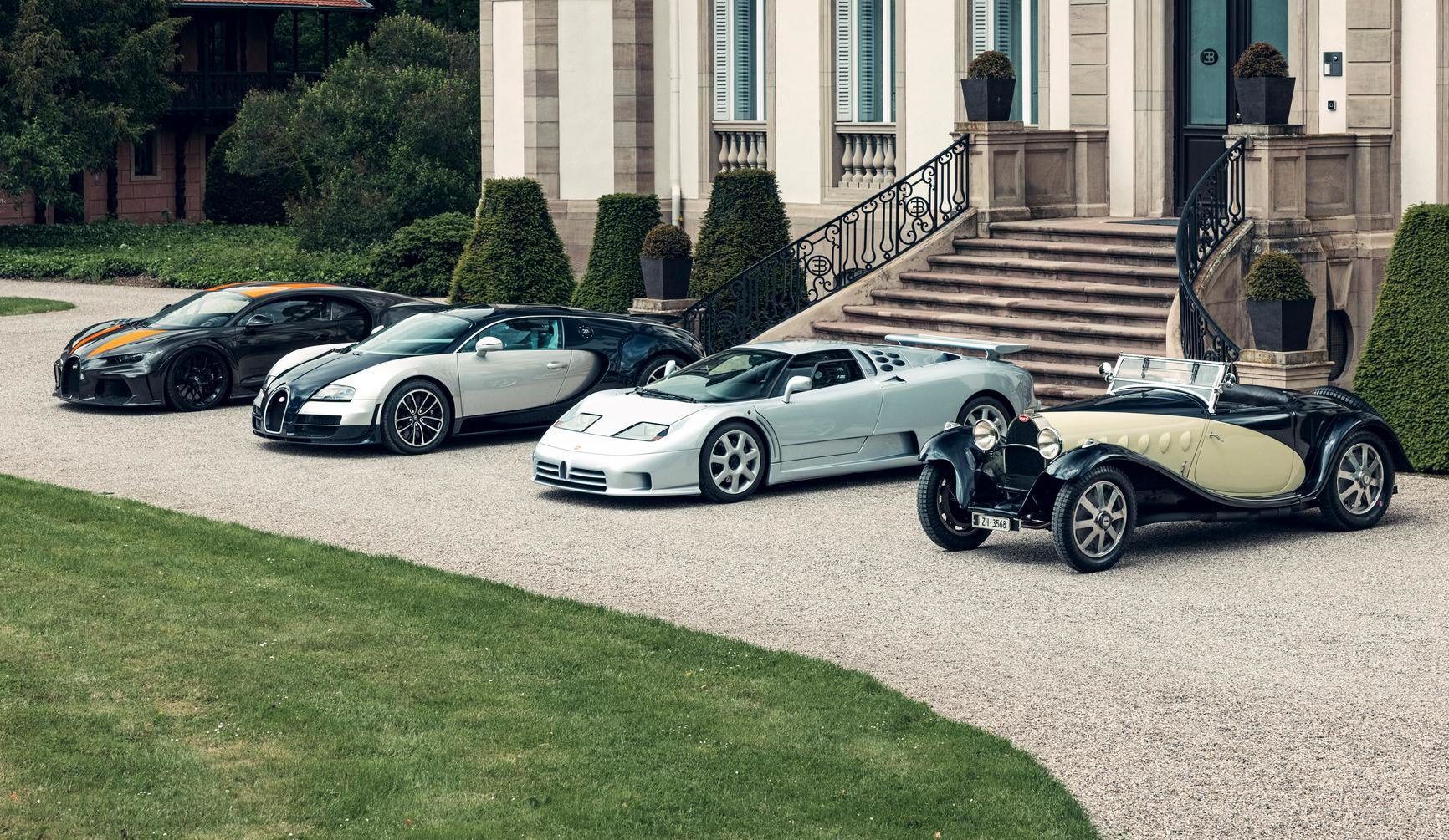 A List of Bugatti Super Sport Models from 1931 to 2021 – the Speed DNA