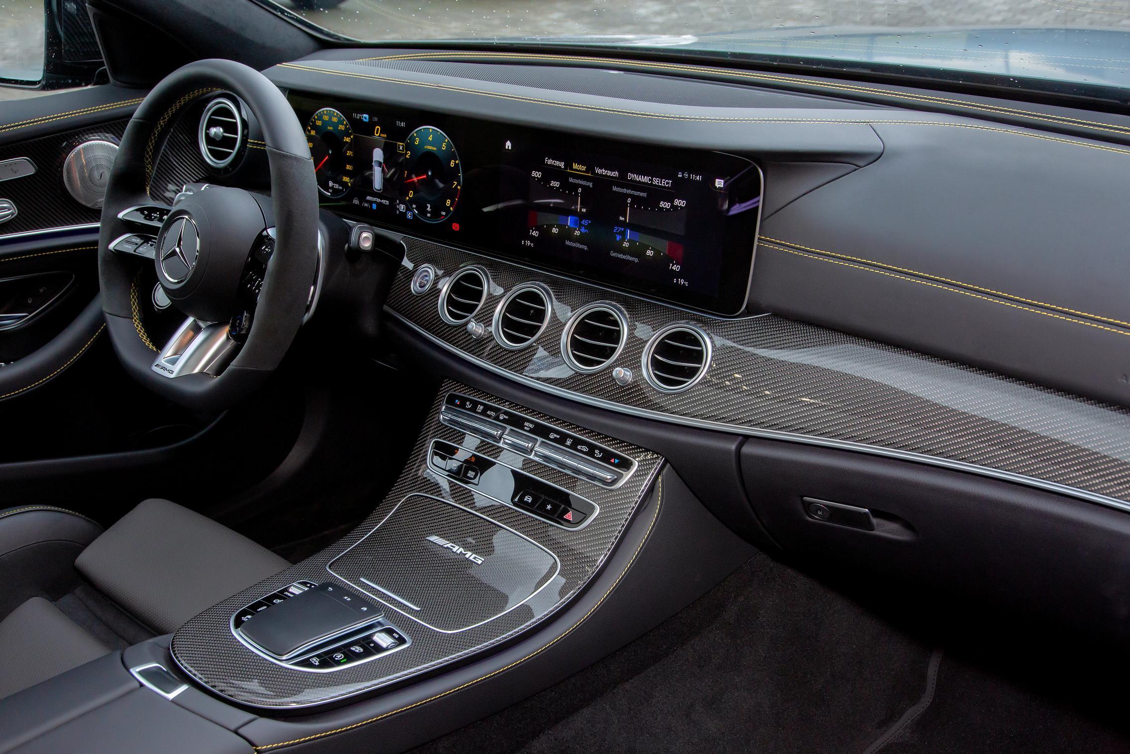 E63 AMG Interior