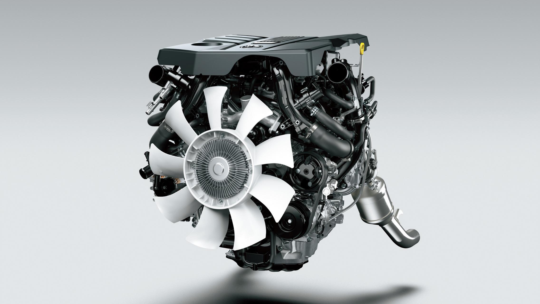 Land Cruiser 300 engine