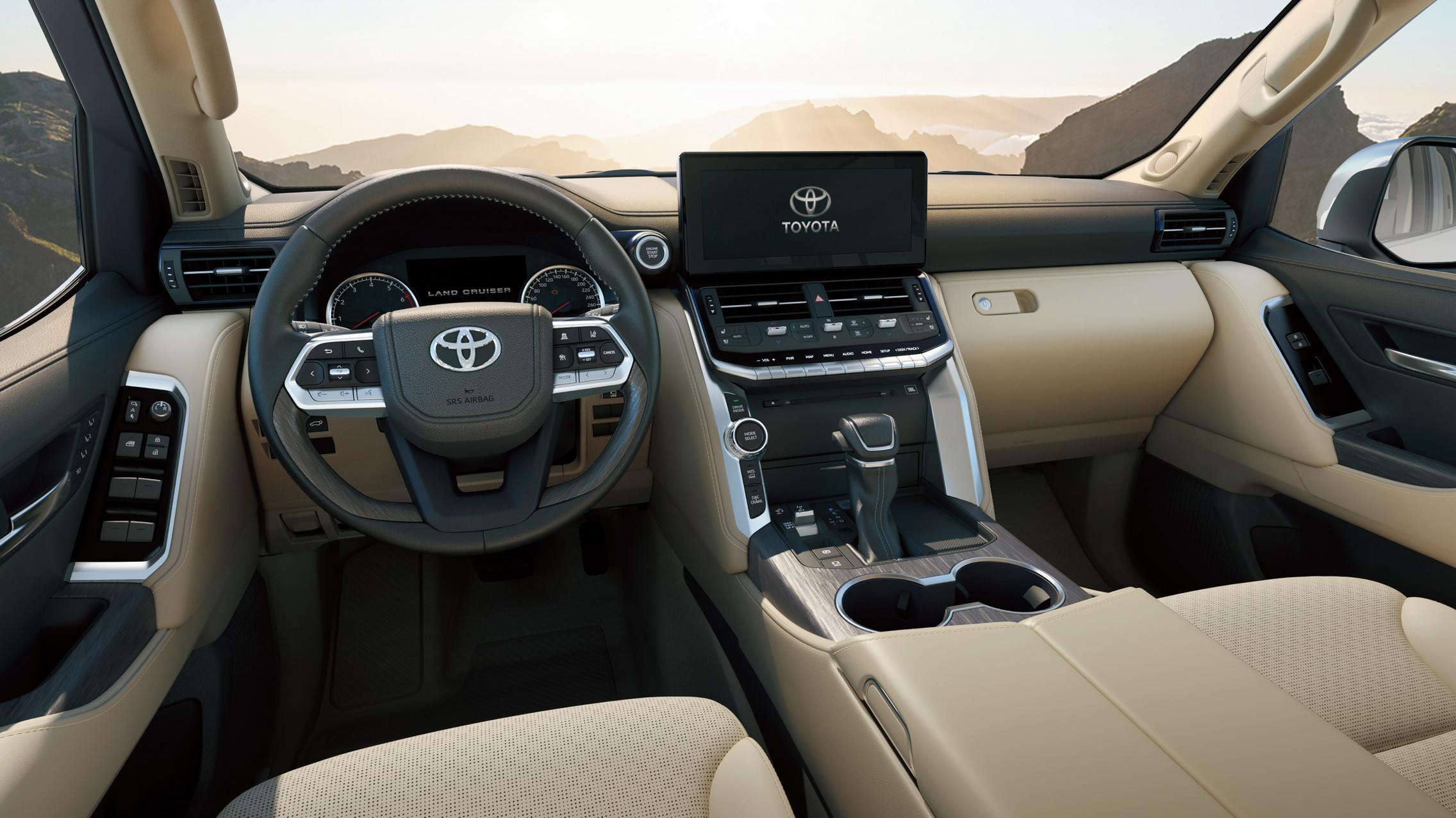 Land Cruiser 300 interior