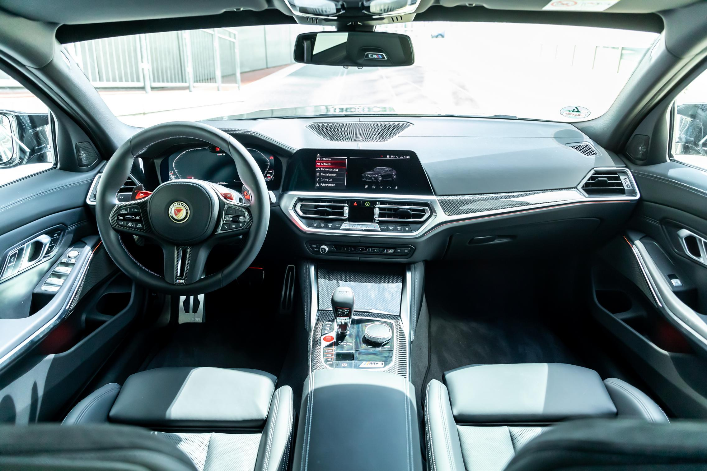Manhart BMW M3 Competition interior