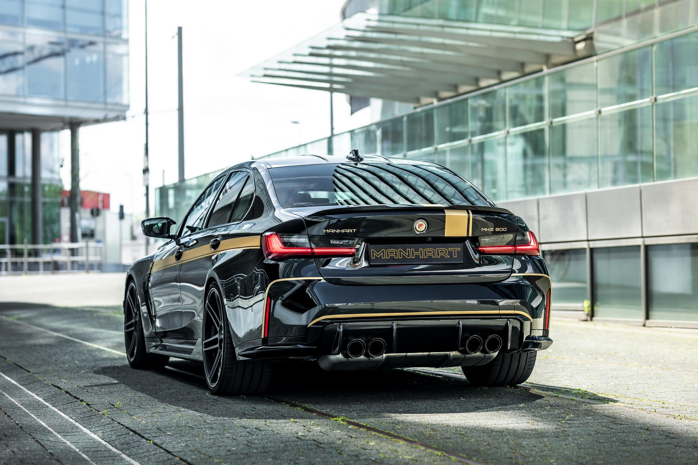 Manhart BMW M3 Competition rear