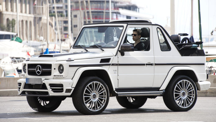 Mercedes-Benz G-Cabrio