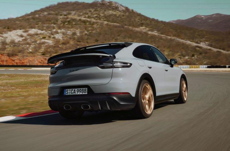 Grey 2022 Cayenne Turbo GT