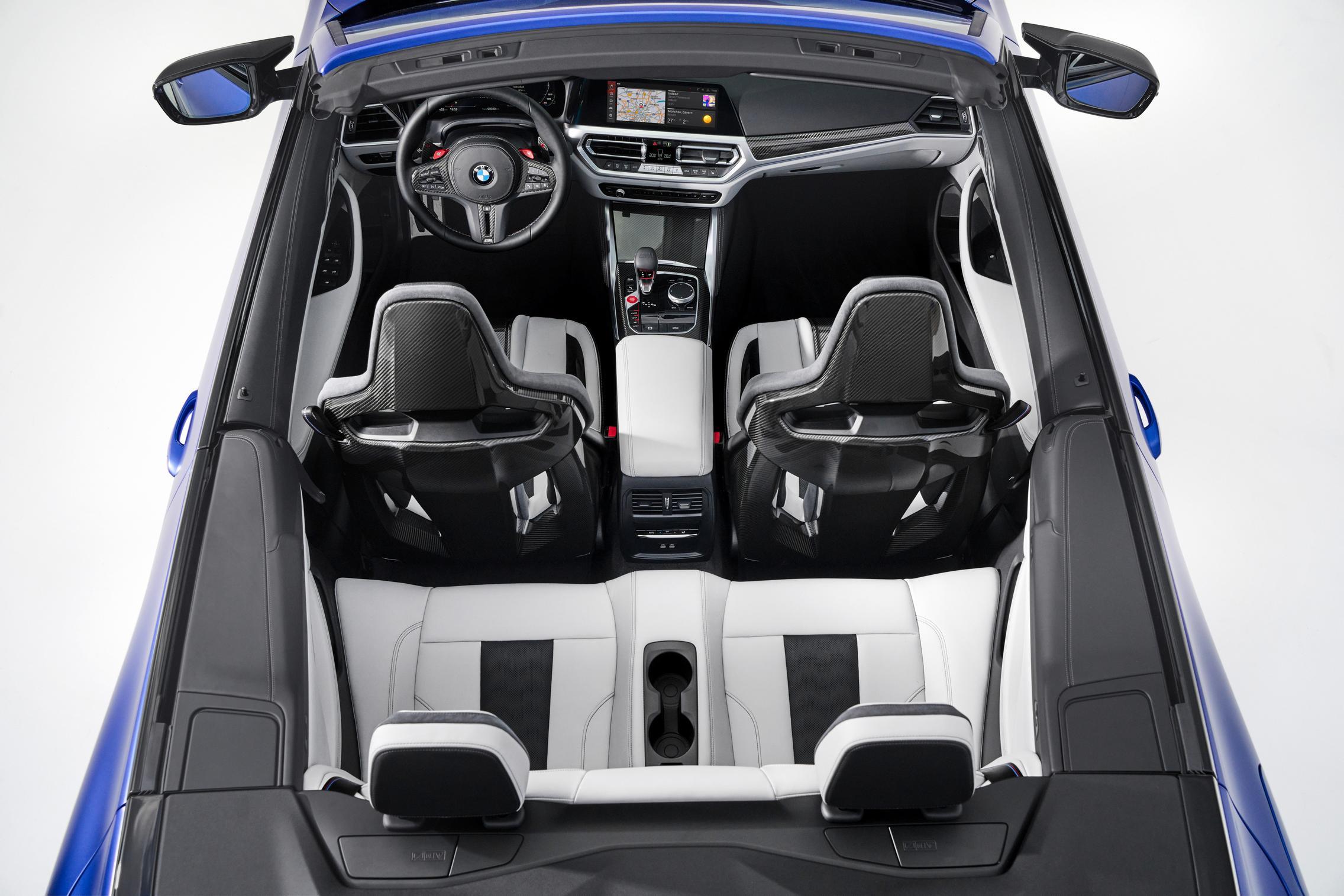 2022 BMW M4 Convertible Seats