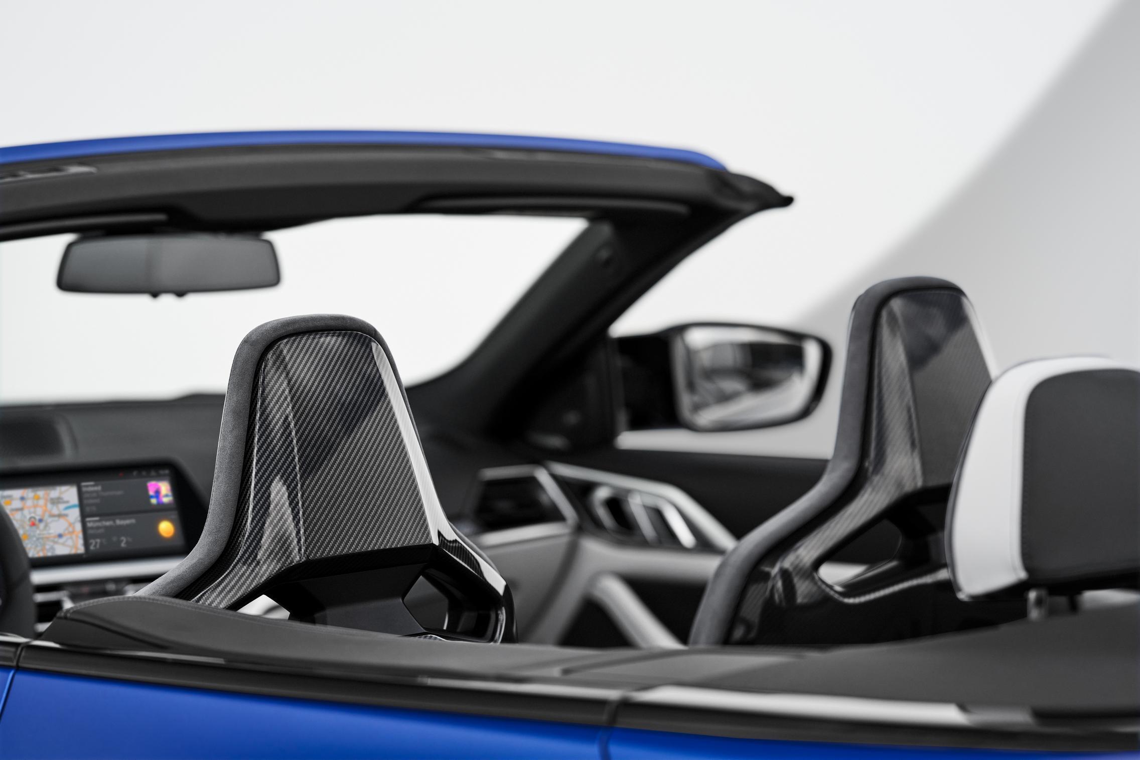 BMW Carbon Seats