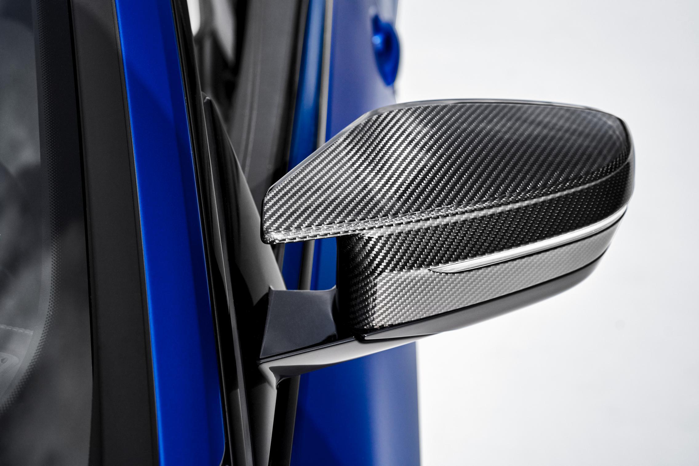 BMW Carbon Mirror Caps