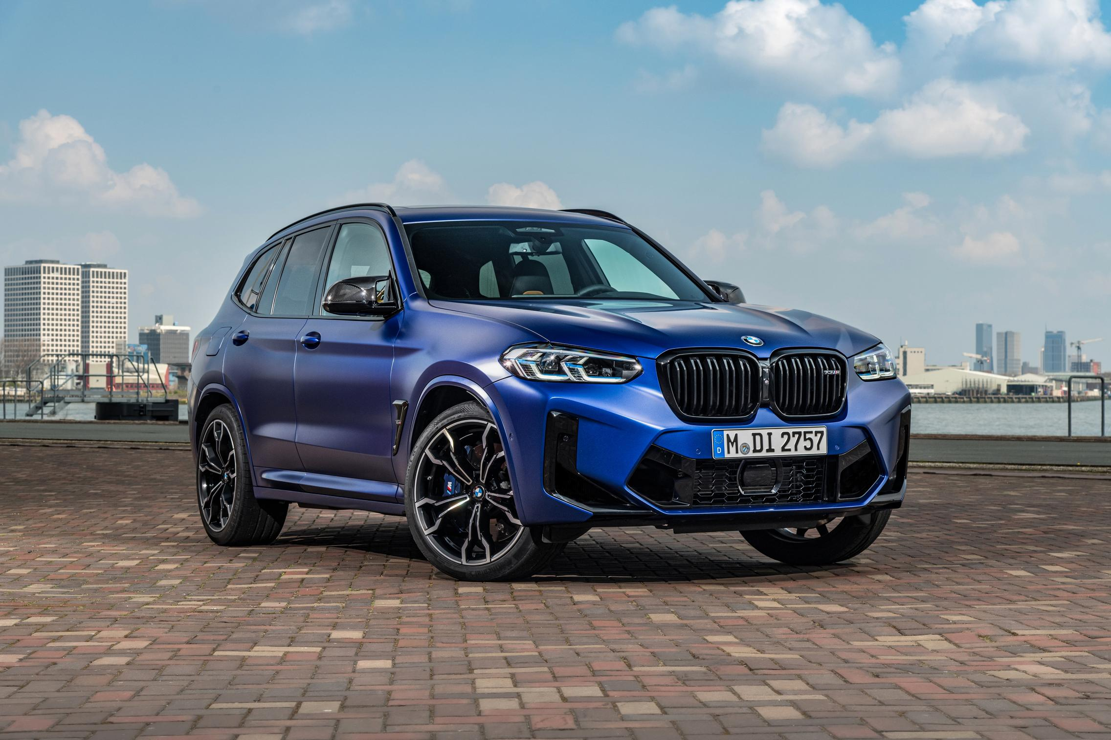 BMW X3 M Competition front 3rd quarter