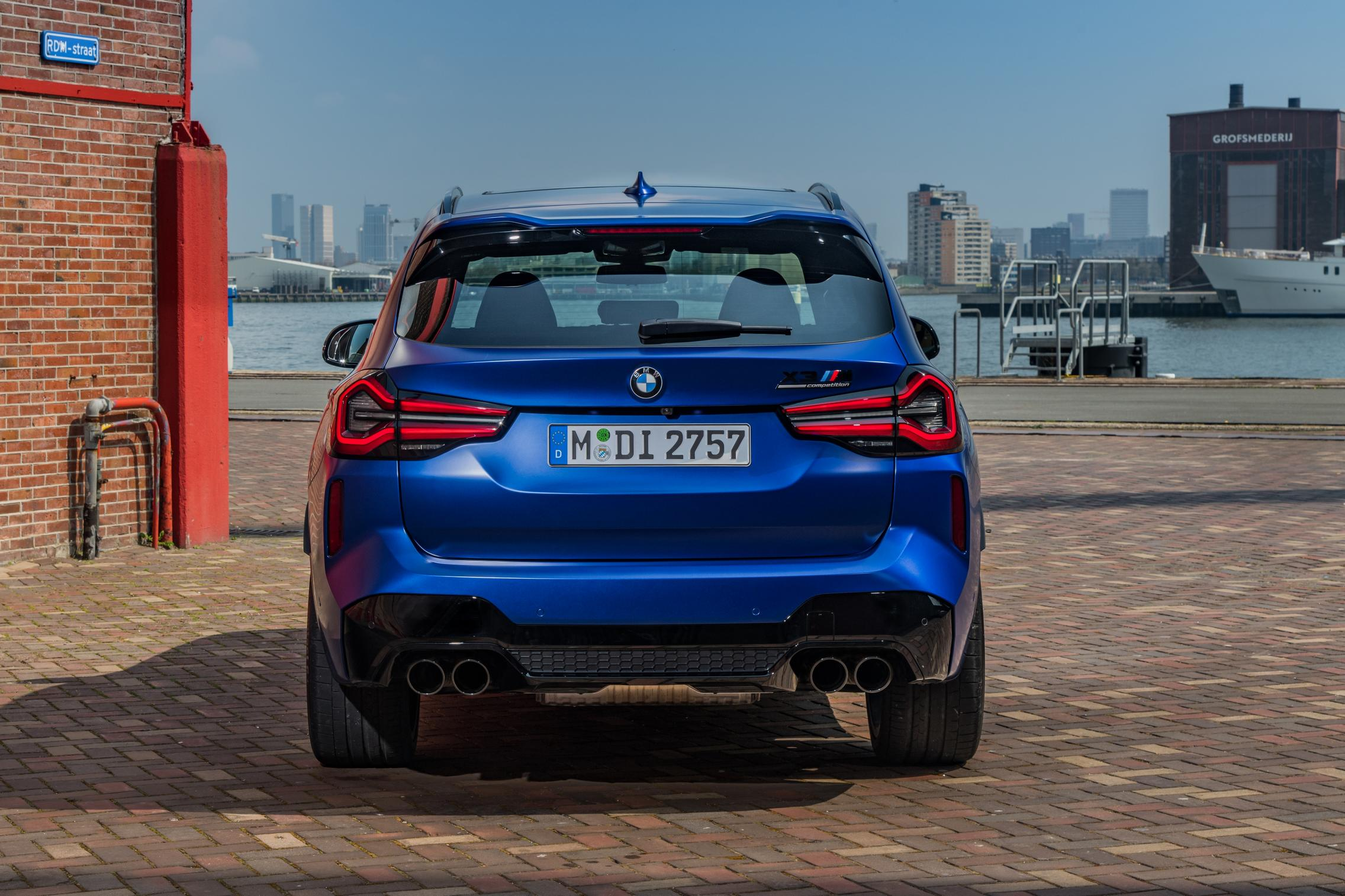 BMW X3 M Competition taillights