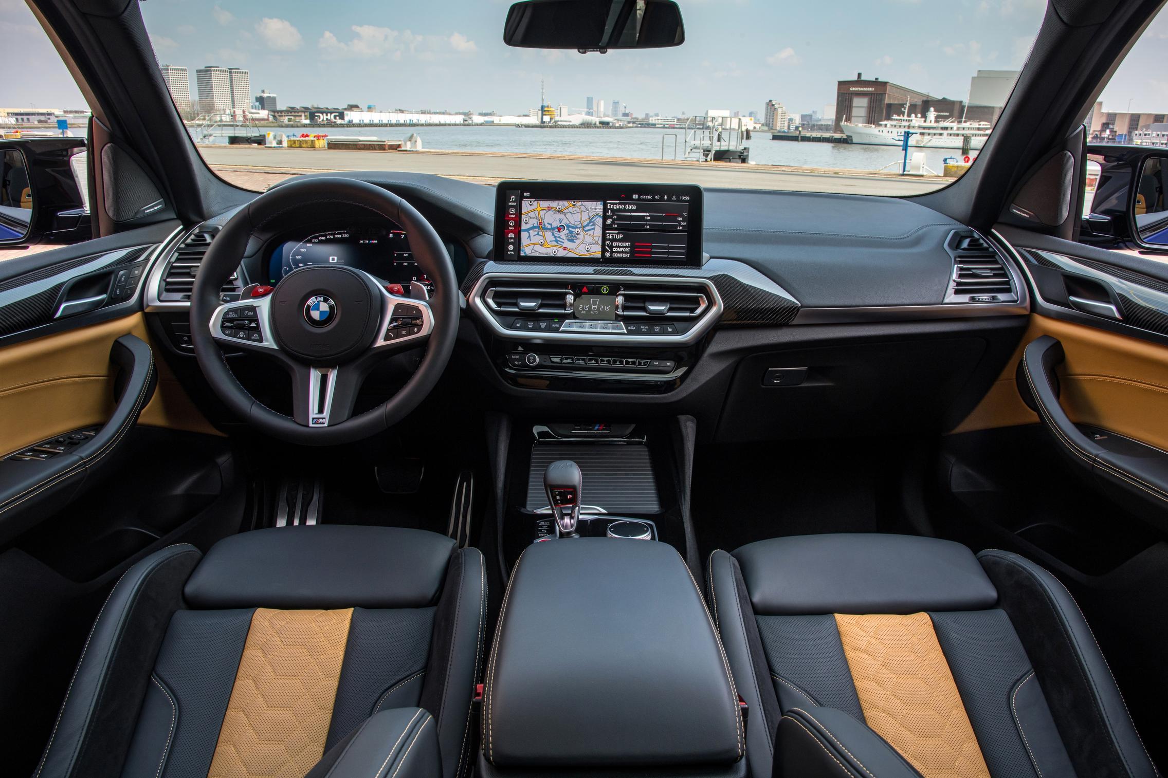 BMW X3 M Competition interior