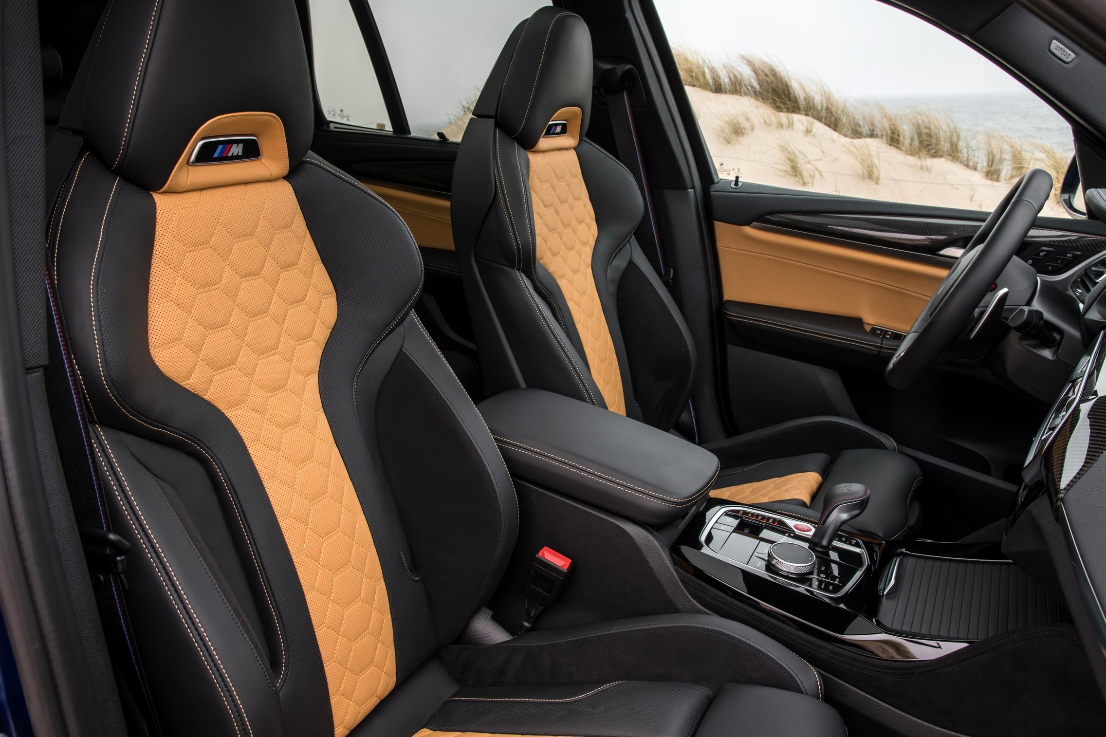 BMW X3 M Competition seats