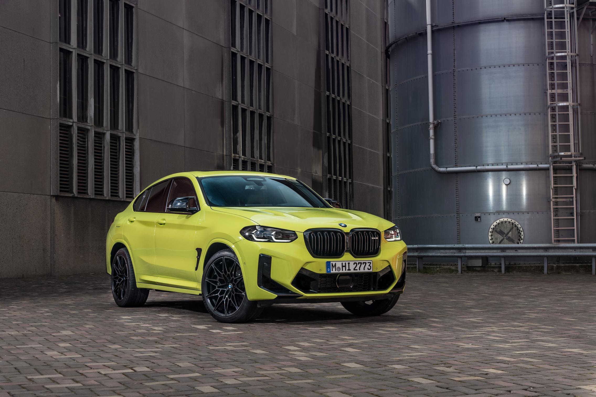 Sao Paulo Yellow BMW X4 M Competition