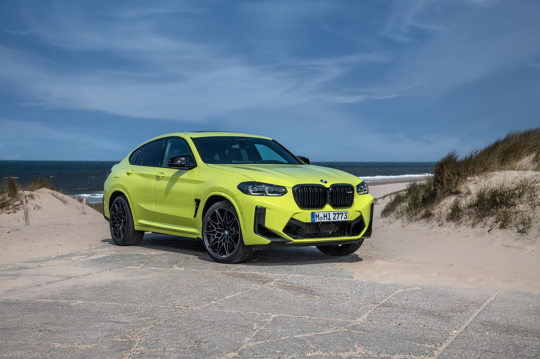2022 BMW X4 M Competition facelift