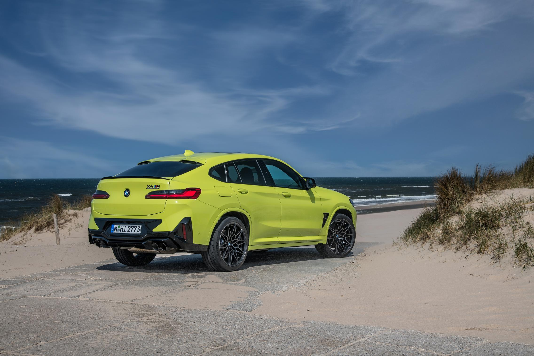 X4 M Competition rear