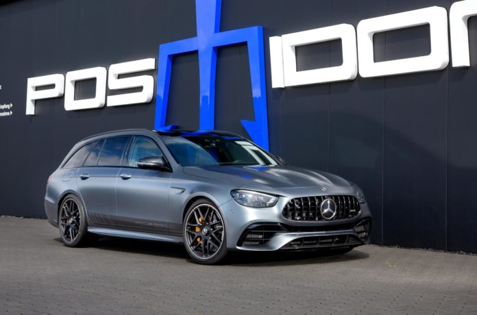 940hp Super Wagon: 2021 Mercedes-AMG E63 S Tuned by Posaidon