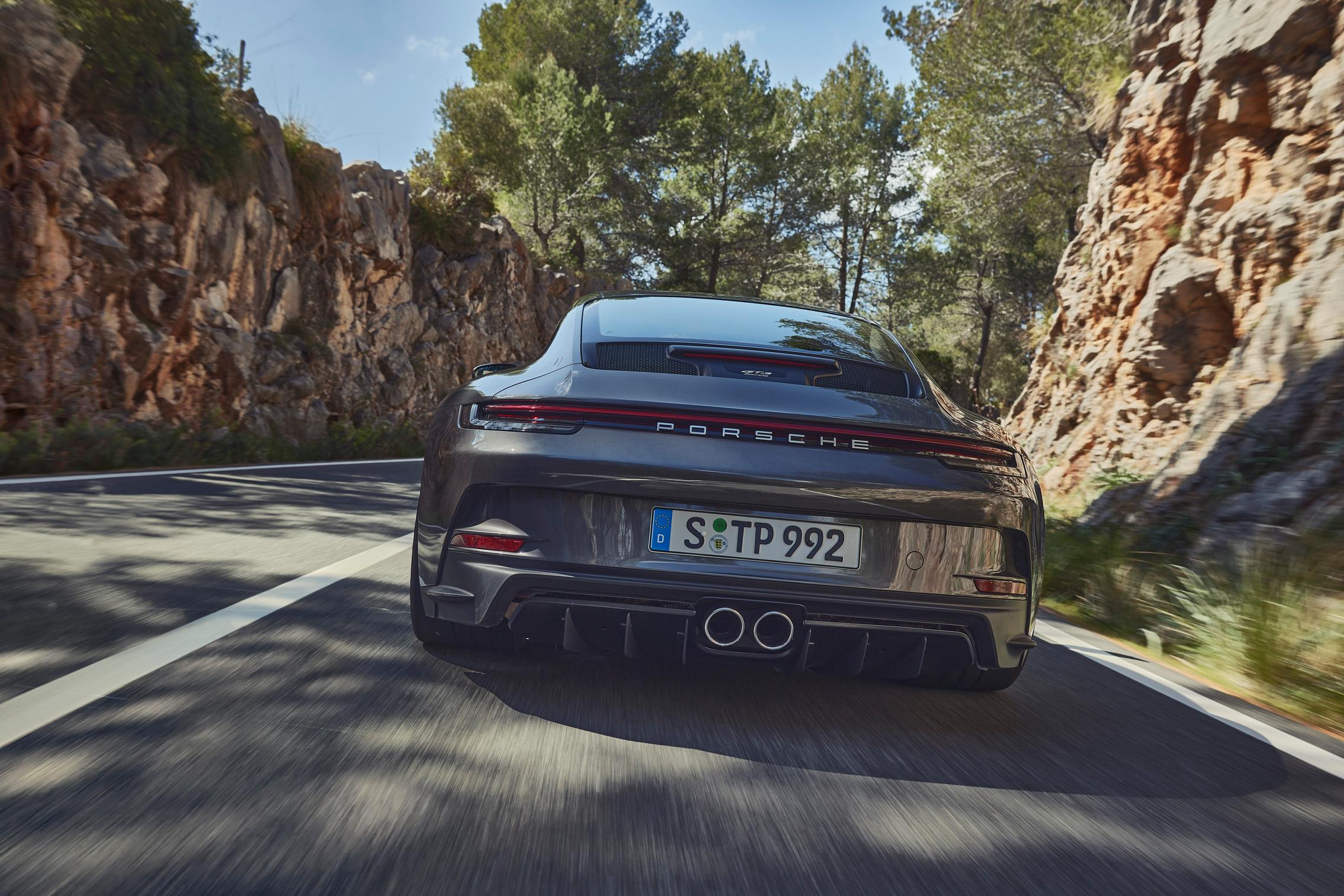 Porsche 992 GT3 Touring rear