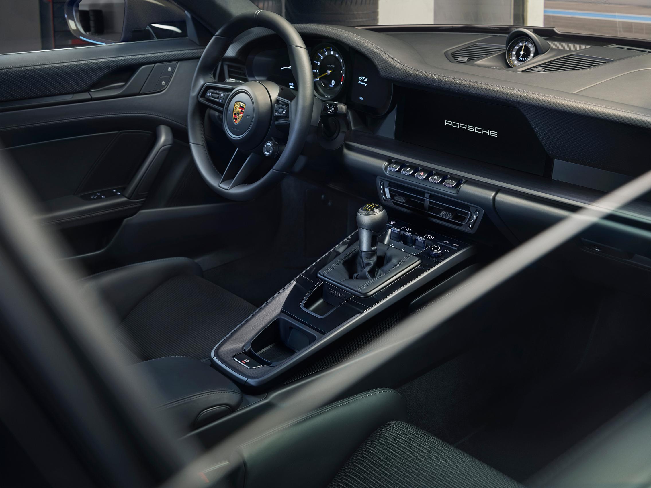 992 GT3 Touring interior