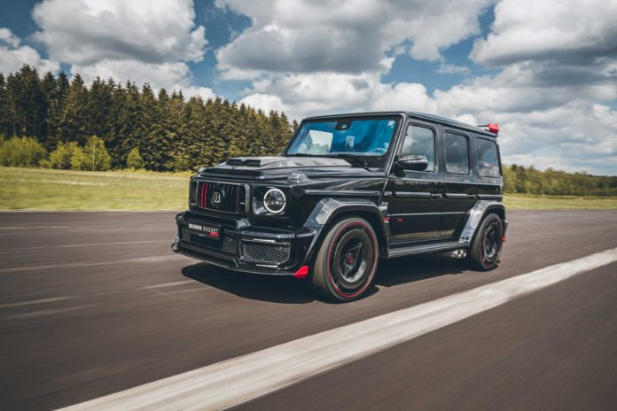 Brabus Rocket 900: A $600k G63 AMG Limited to 25 Cars Worldwide