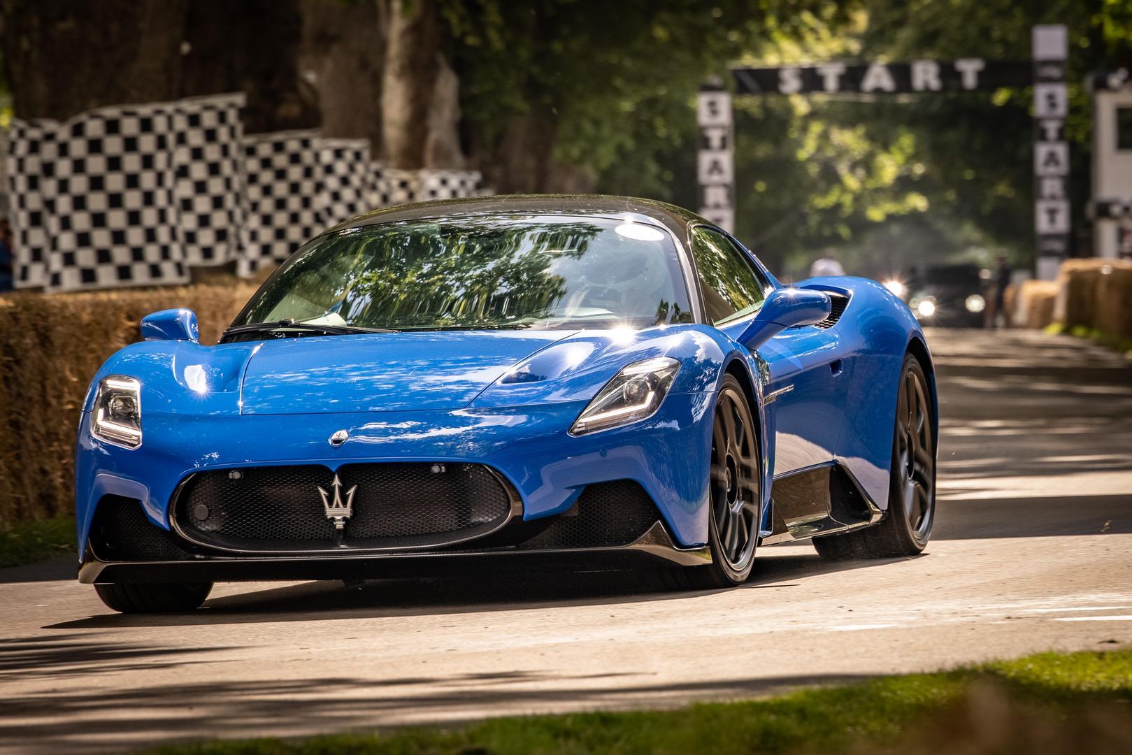 2022 Maserati MC20 price