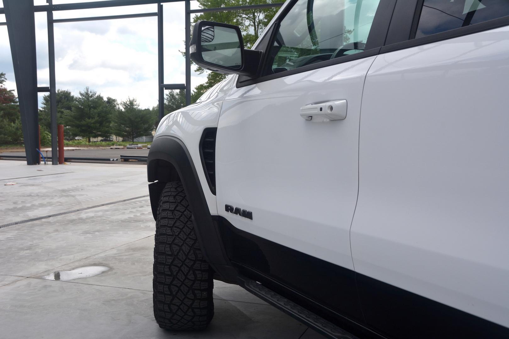 2021 Ram 1500 TRX doors