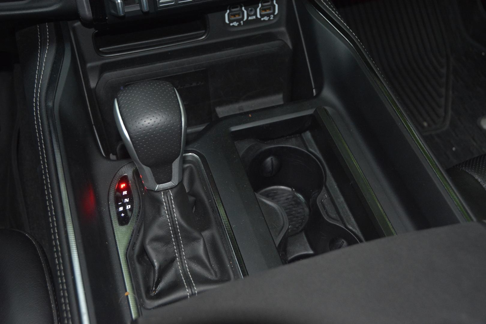 2021 Ram 1500 TRX gear shifter