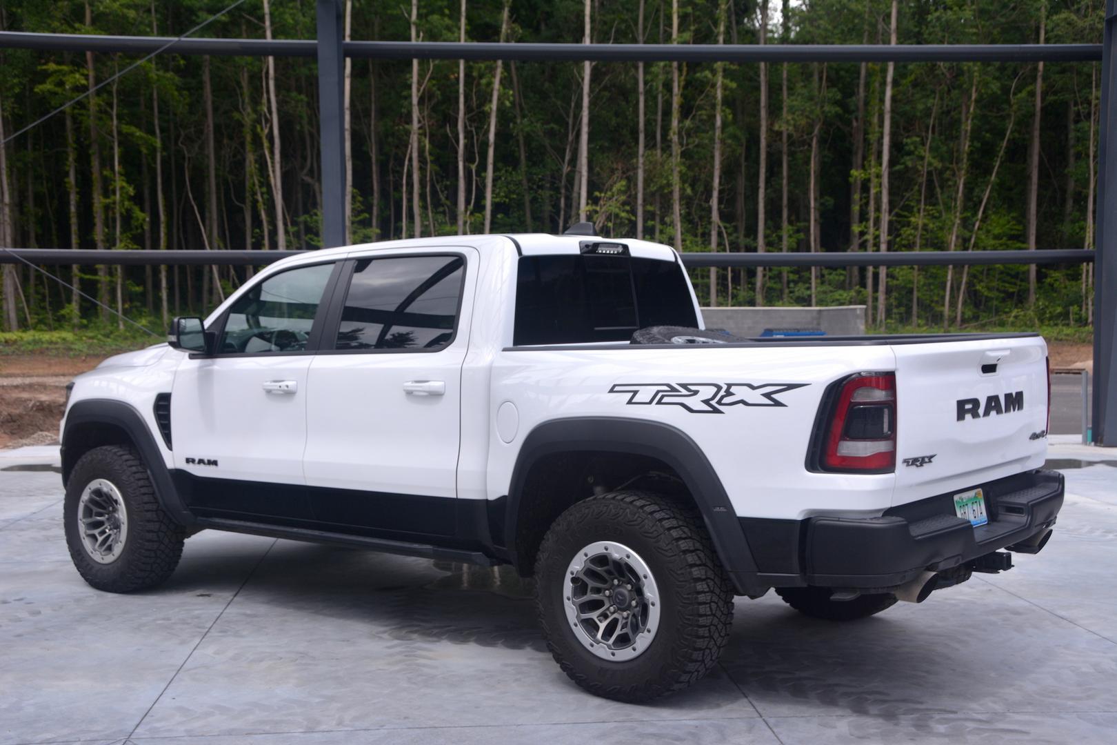 2021 Ram 1500 TRX rear side