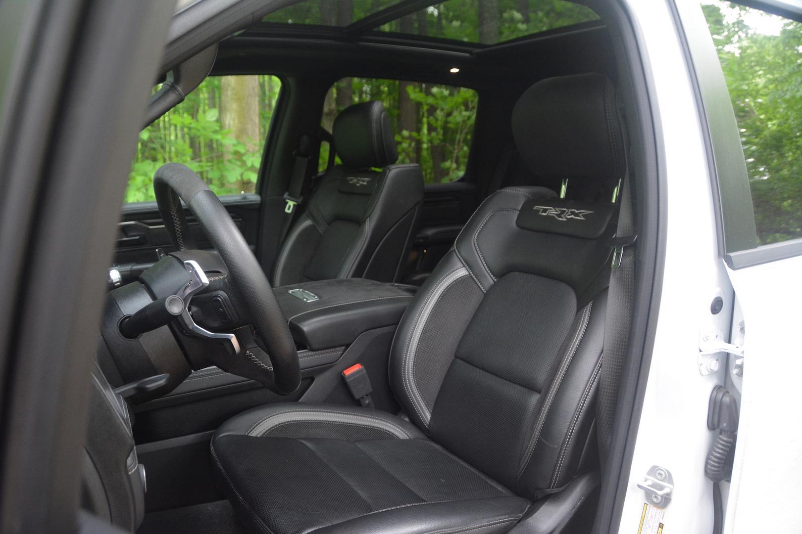 2021 Ram 1500 TRX seats