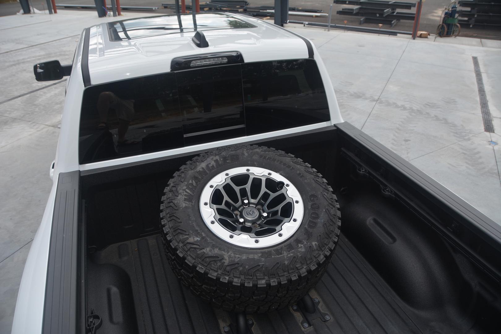 2021 Ram 1500 TRX trunk