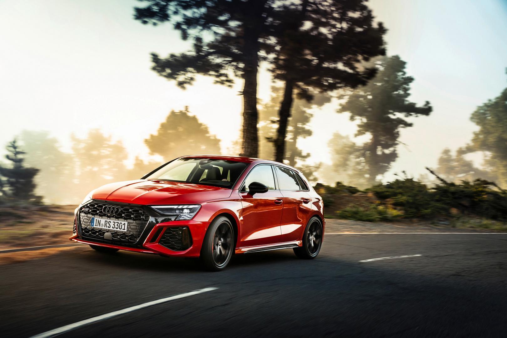 2022 Audi RS3 Sportback front