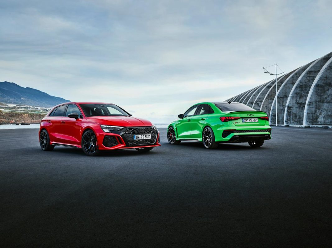 RS 3 Sedan vs Sportback