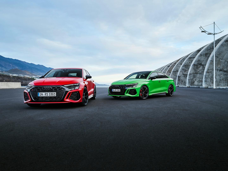 2022 RS 3 Sedan vs Sportback