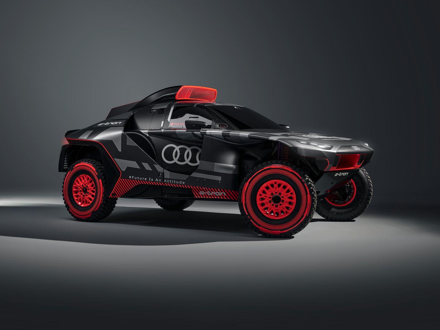 Dakar Rally Audi