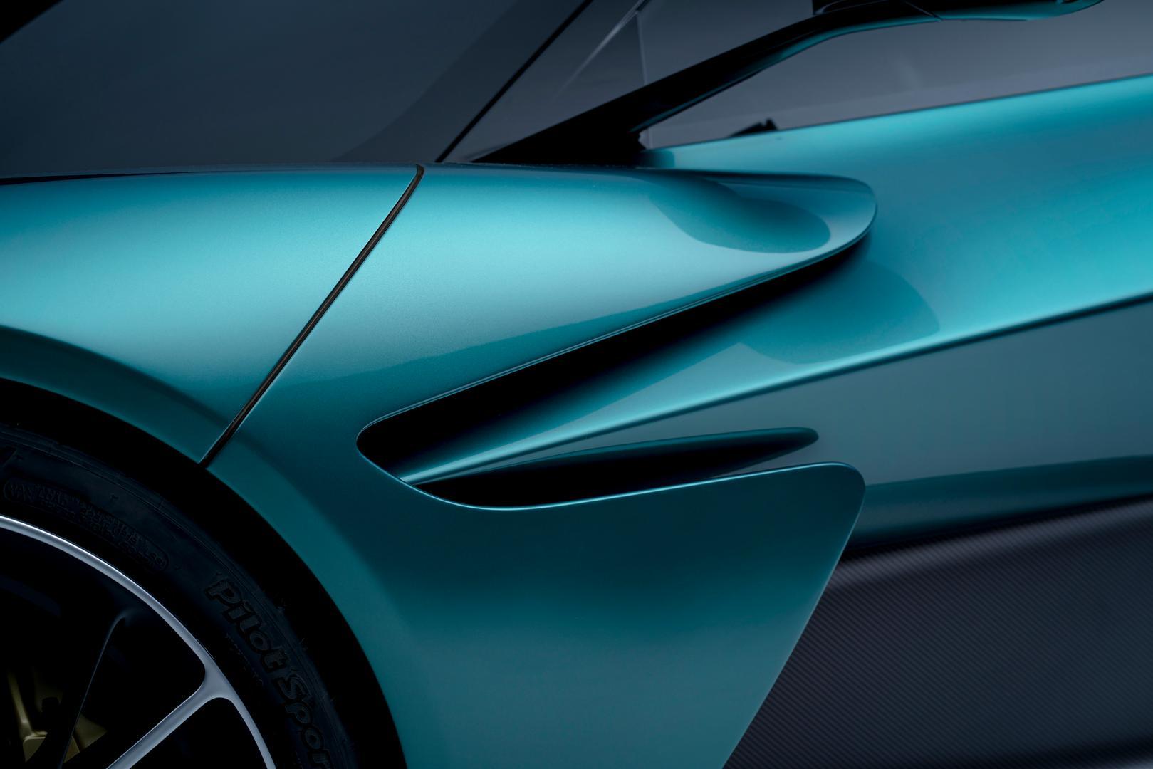 Aston Martin Valhalla details