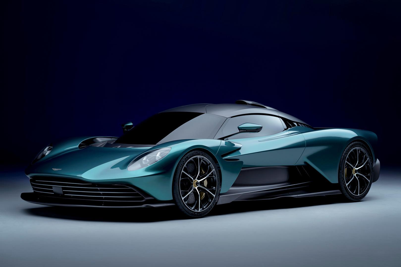 Aston Martin Valhalla Revealed in Production Form: V8 Hybrid Replaces V6