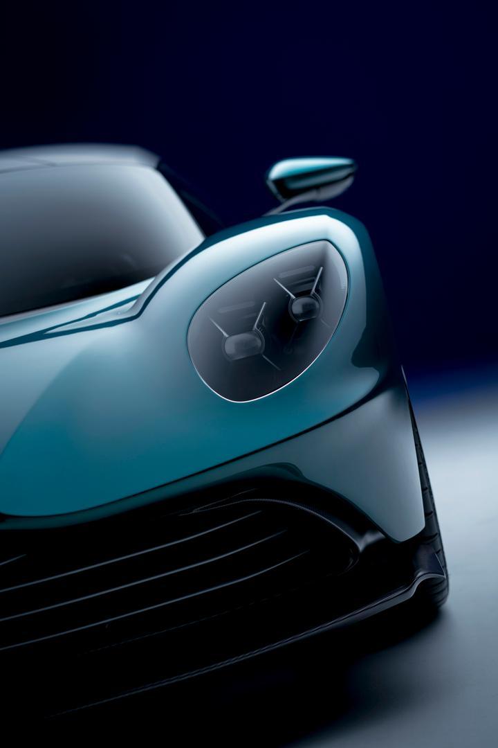 Aston Martin Valhalla headlight