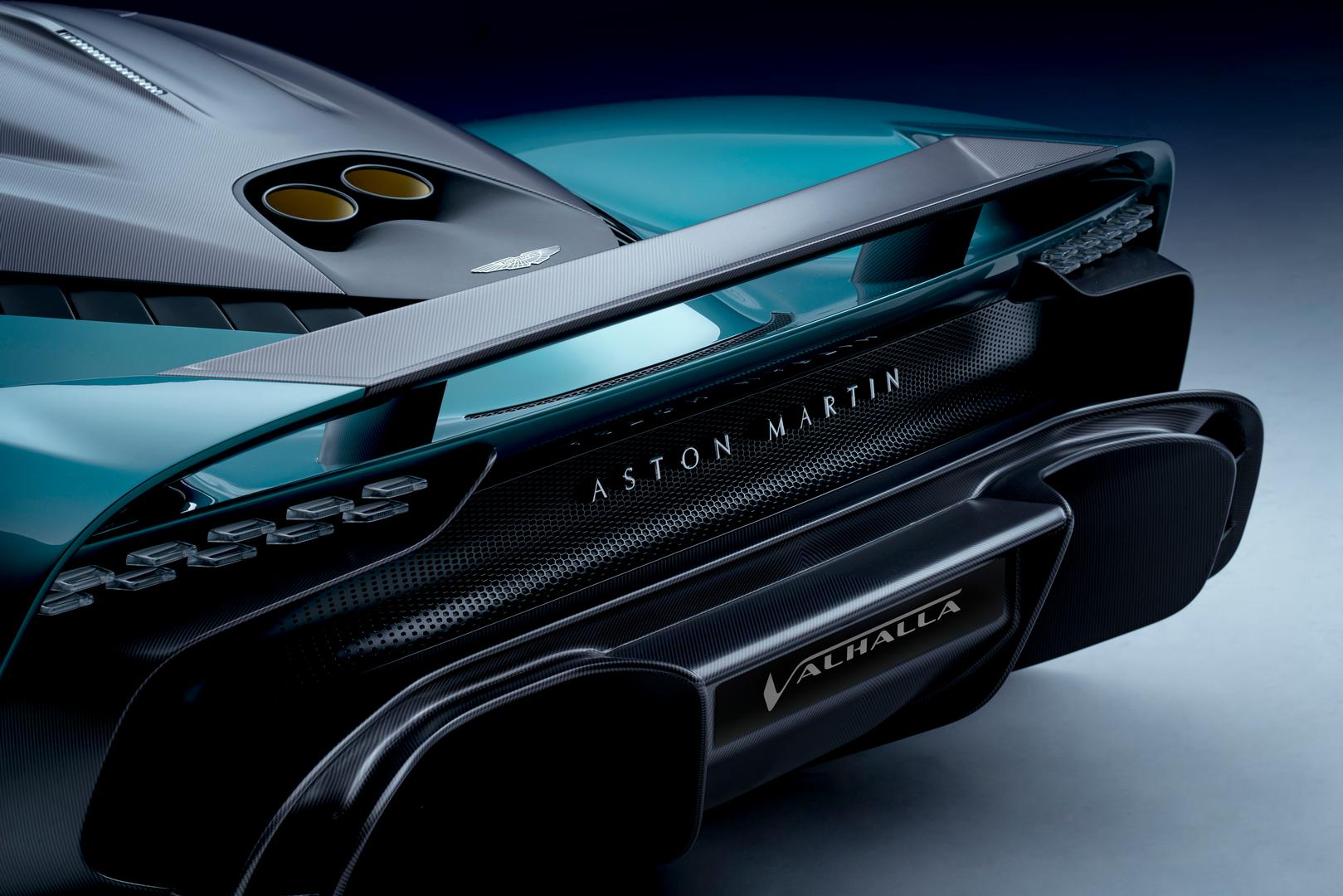 Aston Martin Valhalla rear wing