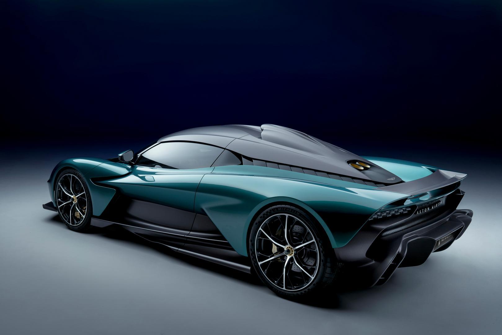 Aston Martin Valhalla specs