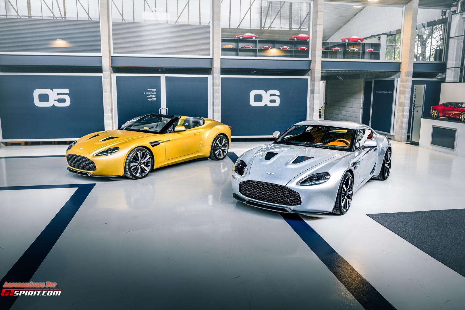 Aston Martin V12 Heritage Twins: The Return of the V12 Zagato