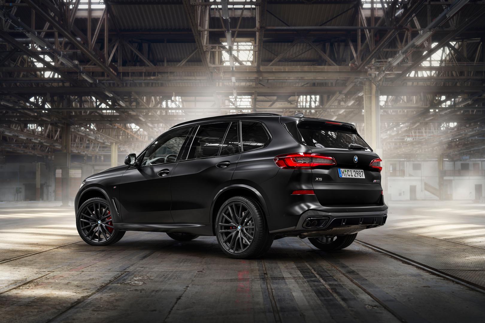 BMW X5 Black Vermilion rear