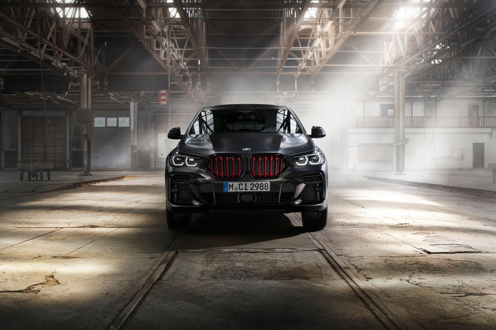 BMW X5 Black Vermilion front