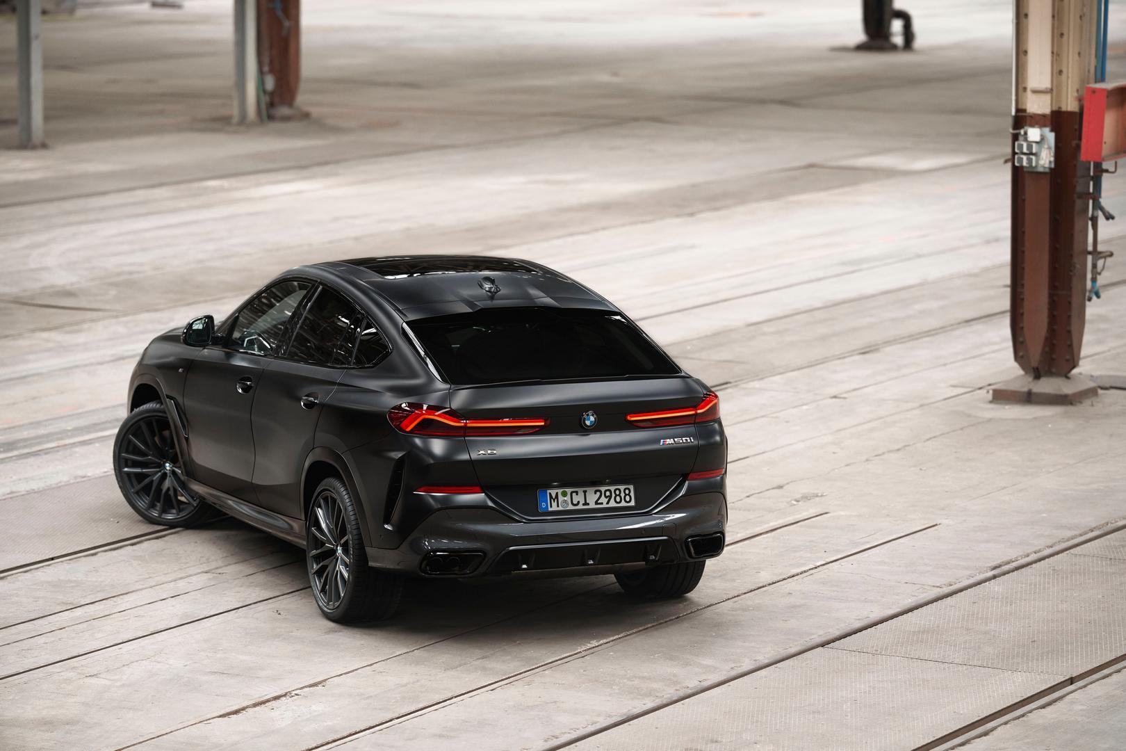 2022 BMW X6 Black Vermilion