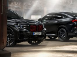 2022 BMW X6 X5 Black Vermilion