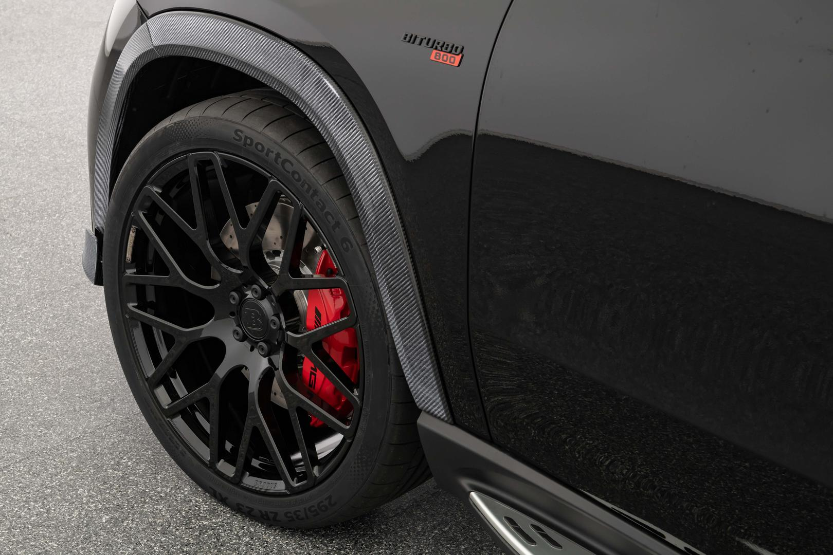 Brabus 800 GLE 63 S Coupe wheels