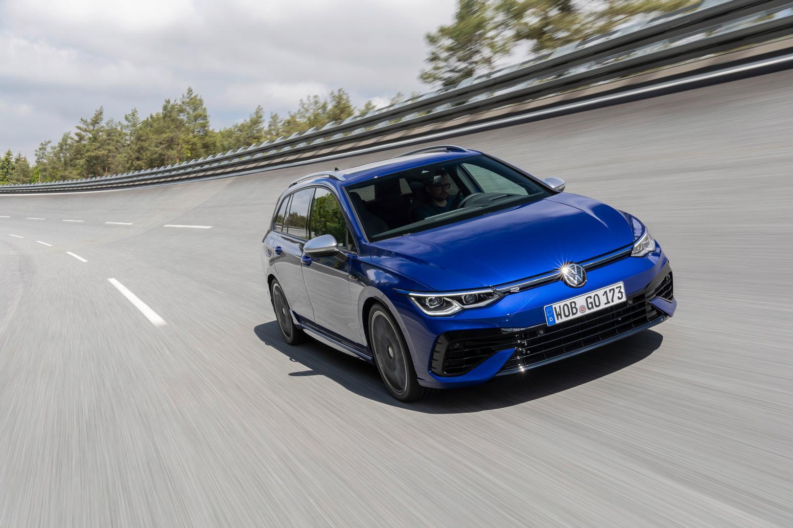 2022 VW Golf 8 R Estate