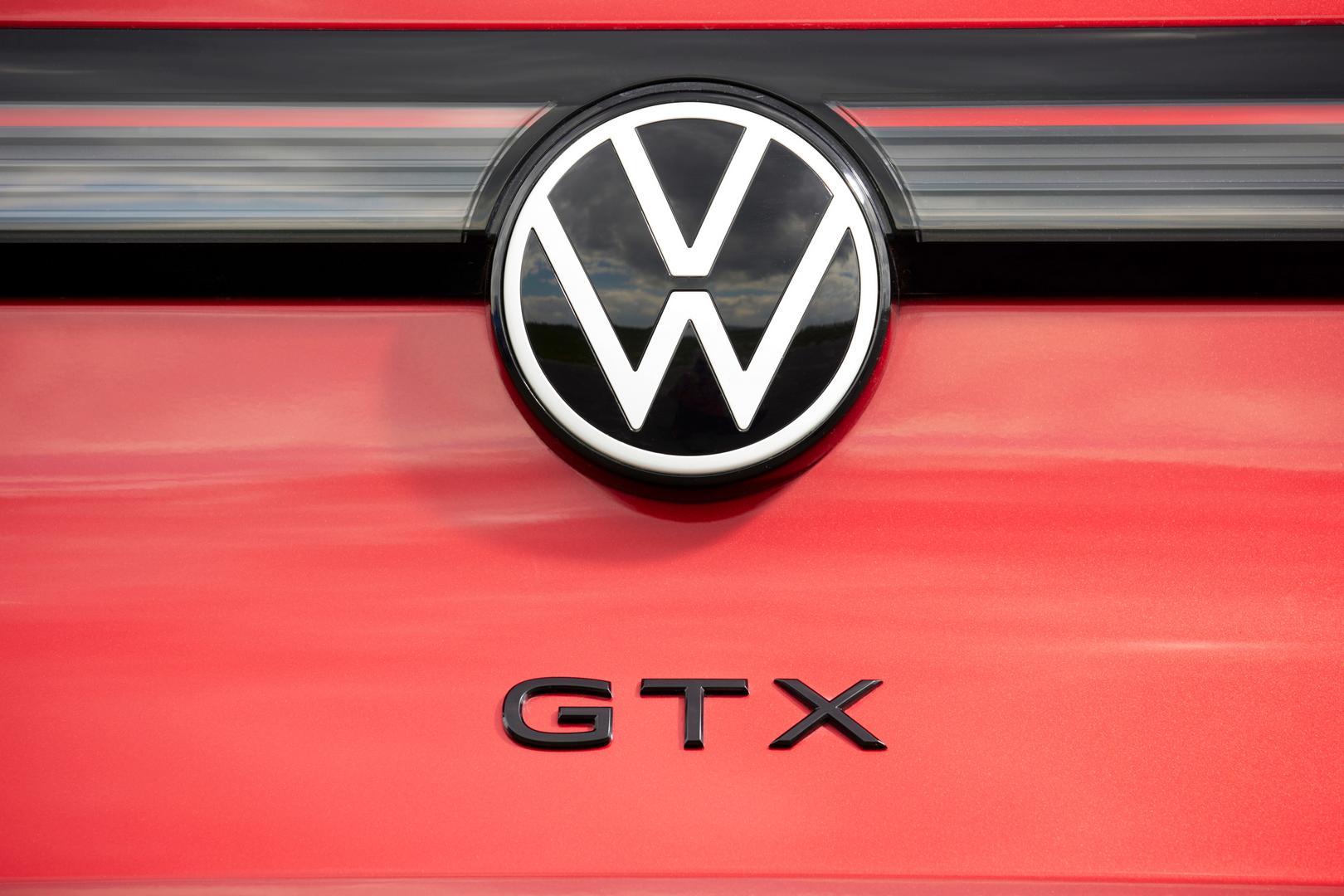 Volkswagen ID.4 GTX badge