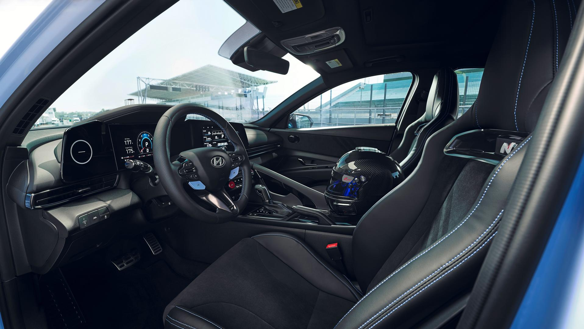 Hyundai Elantra N interior