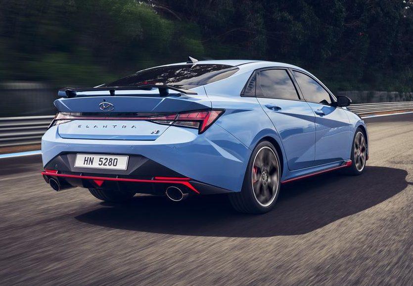 Hyundai Elantra N rear